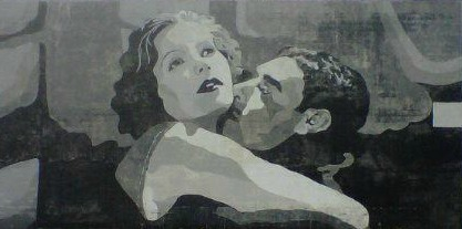 Gilbert and Garbo Mural