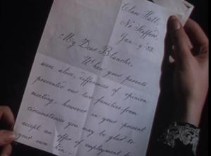 A fateful letter