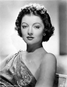 Myrna Loy Publicity Shot for Metro-Goldwyn-Mayer