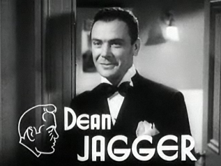 Dean Jagger in Dangerous Number (1937)