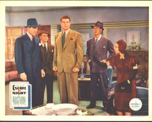 Escape by Night Lobby Card